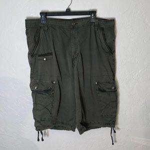 PD&C Men's Cargo Shorts, Size 38